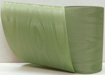 Kranzband-Moiré farn - uni, ohne Randdekor