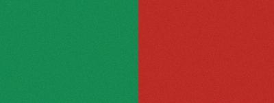 Computer-Nationalband / Vereinsband Grün-Rot