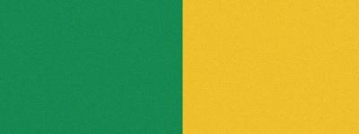 Computer-Nationalband / Vereinsband Grün-Gelb