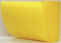 Kranzband-Moiré postgelb - uni, ohne Randdekor