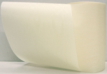 Kranzband-Moiré creme - uni, ohne Randdekor