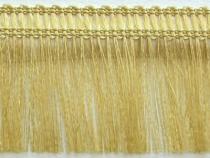 Kranzband-Klebefranse gold
