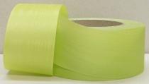 Kranzband-Moiré maigrün - uni, ohne Randdekor