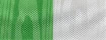 Moiré Nationalband / Vereinsband Grün-Weiß