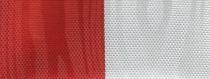 Moiré-Nationalband Polen - Rot-Weiß