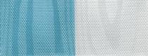 Moiré Nationalband / Vereinsband Hellblau-Weiß