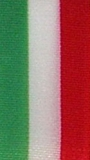 Nationalband Italien - Grün-Weiß-Rot