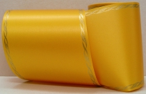 Computerband gelb - Perlkante gold