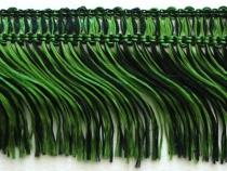 Kranzband-Franse dunkelgrün