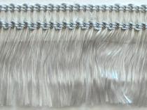 Kranzband-Klebefranse silber