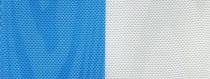 Moiré Nationalband Finnland - Mittelblau-Weiß