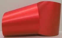 Computerband feuerwehrrot - uni, ohne Randdekor