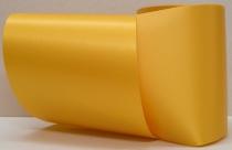 Computerband gelb - uni, ohne Randdekor