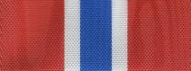 Moiré Nationalband Norwegen - Rot-Weiß-Blau-Weiß-Rot