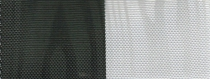 Moiré Nationalband / Vereinsband Schwarz-Weiß