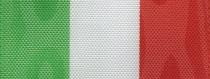 Moiré Nationalband Italien - Grün-Weiß-Rot