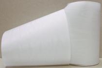 Kranzband-Moiré weiß - uni, ohne Randdekor